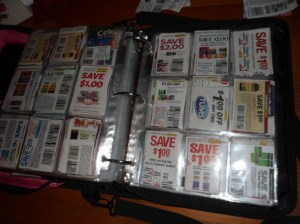 Organized coupons