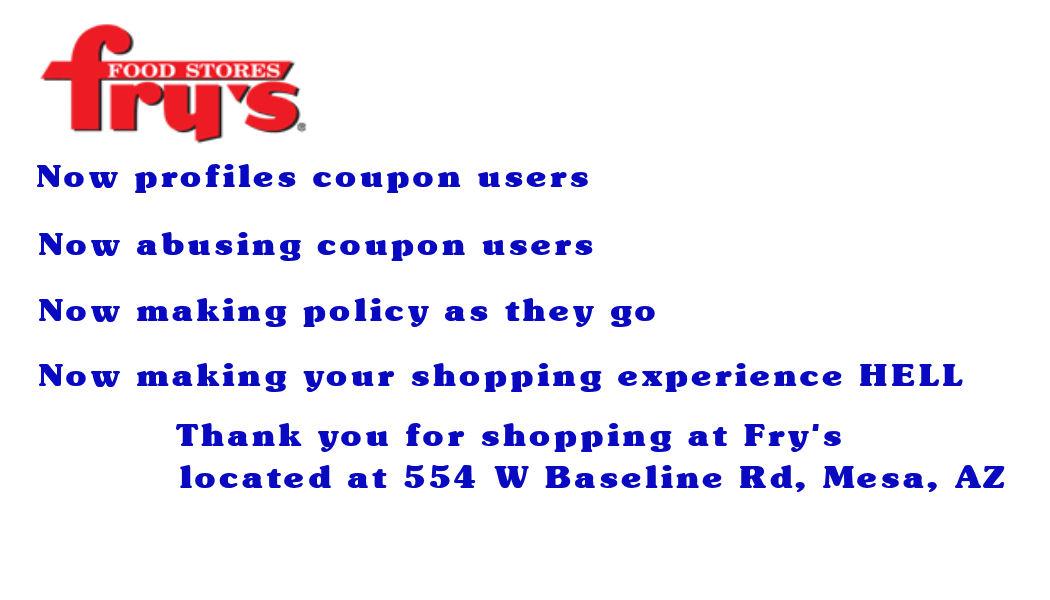 Fry's coupon code